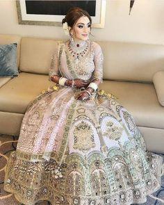 10 Prettiest Unconventional Wedding Lehenga For This Season! : 10 Prettiest Unconventional Wedding Lehenga For This Season! Wedding Lehenga Designs, Wedding Lehnga, Indian Wedding Gowns, Muslim Wedding Dresses, Designer Bridal Lehenga, Indian Bridal Lehenga, Indian Bridal Outfits, Indian Bridal Fashion, Indian Bridal Wear