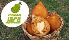 """A famosa COXINHA DE JACA (feita com Carne de Jaca Verde, que parece um """"frango vegetal""""). Qualquer palavra que eu disser será em vão. Apresentação, Roteiro, ..."""