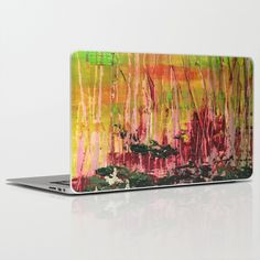 Buy Black Bark by Stephanie Cole CREATIONS as a high quality Laptop & iPad Skin. Worldwide shipping available at Society6.com. Just one of millions of…  Black Bark #absractart #birchcollection #forrestfire #cushion #woods #trees #landscape #afterthefire #stephaniecole #canvas #acrylics