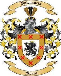 Image result for Valenzuela Family Crest