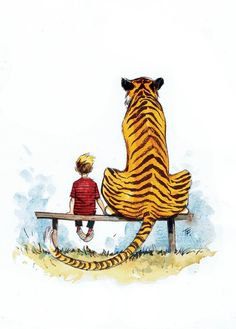 Love It.  CALVIN & HOBBES by tom fowler