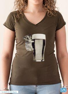 Koala Beer t-shirt | Design by Alex Zapata