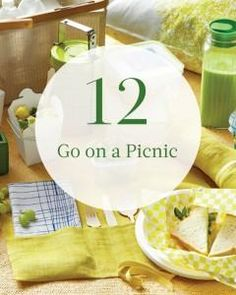 #12 on our summer bucket list: Go on a Picnic