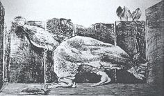 grattage_Max Ernst, pencil or crayon. Dada and Surrealism-Art Between the Wars