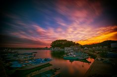 #.port by photographer photopia on #500px - #landscape #travel #sky #sunset #longexposure #photography