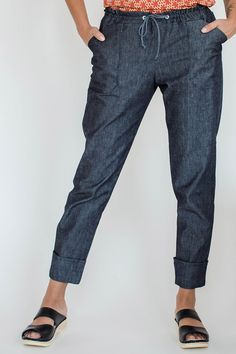 Moji - pant pattern, make with AGFs new denim line