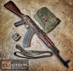 Lee Armory- Polish AK-47 Battlefield Pick Up-Copper Custom