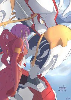 Waifu Material, Zero Two, Best Waifu, Darling In The Franxx, Kokoro, Most Favorite, Anime Characters, Geek Stuff, Fan Art