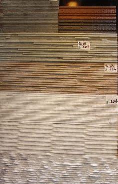 "ARTIFICIAL  STONE Standard size: 4"" X 12"" Unit cost: 350 TK per sft Application: walls Installation process: fixed with mortar Manufacturer & Vendor: India/ Innovative decor"