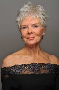 nice 15 Short Haircuts for Older Round Faces