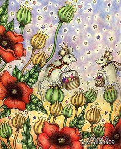 Inspirational coloring pages by @mediana09 #inspiração #coloringbooks #livrosdecolorir #jardimsecreto #secretgarden #florestaencantada #enchantedforest #reinoanimal #animalkingdom #adultcoloring #johannabasford #lostocean #oceanoperdido #milliemarotta #tropicalwonderland