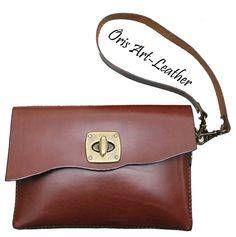 Handmade leather bags Bolsos de cuero hechos a mano