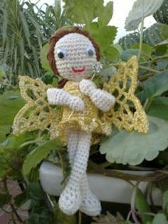 Good Fairy Amigurumi free pattern