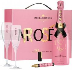 Moët & Chandon Champagne - Awesome pink gift set