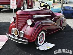 Lowrider Pedal Cars | Pachuco Car Club And Show Lowrider Pedal Car Photo 7