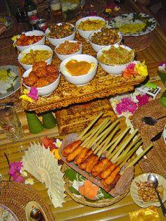 Balinese/Javanese spread!