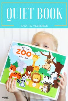 At the zoo Quiet book