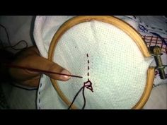 Eskimo Edging Stitch | The Mom's Embroidery - YouTube