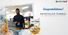Congratulations Rahatullah Ziarmal! You've won $20 Lunch/Dinner Coupon in our Contest ! Cheers to delicious food!