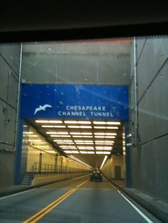 """See 826 photos and 50 tips from 10661 visitors to Chesapeake Bay Bridge-Tunnel. """"These tunnels are so much fun for kids. Dc Travel, Travel Goals, Places To Travel, Virginia Homes, Virginia Beach, Cape Charles Virginia, Chesapeake Bay Bridge, Covered Bridges, Ocean City"""