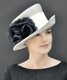 Ladies formal hat, wedding hat, dressy hat, Kentucky Derby hat, Ascot hat, elegant hat, stylish hat, event hat