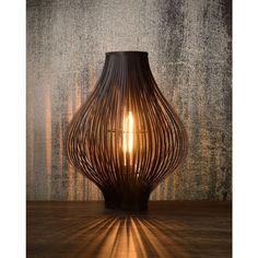Pelo tafellamp - zwart