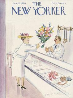 Helen E. Hokinson : Cover art for The New Yorker 1114 - 22 June 1946