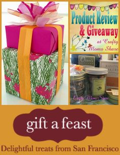 Crafty Moms Share: Gift a Feast: A Feast of Snacks Review and Giveawa...