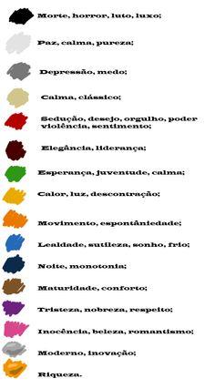 Personalidade através das cores
