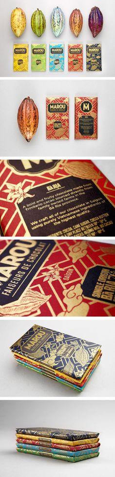 Marou Faiseurs de Chocolat - fabulous, artful design and packaging