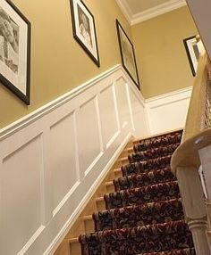 10 Auspicious Tips AND Tricks: White Wainscoting Kitchen wood wainscoting rustic.Diy Wainscoting Dining Room wainscoting entryway board and batten. Black Wainscoting, Dining Room Wainscoting, Wainscoting Panels, Wainscoting Ideas, Painted Wainscoting, Wainscoting Height, Wainscoting Nursery, Stairway Wainscoting, Basement Wainscoting