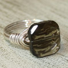 Desert Sky Ring  sterling silver wire  by SusansJewelryDesigns, $21.00