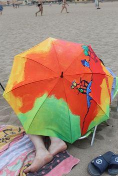 Parapluies dans l'Aude