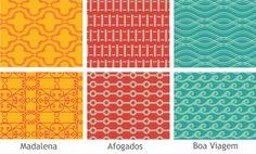 Bairros do Recife em letterings on Behance