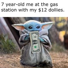 See more 'Baby Yoda' images on Know Your Meme! Super Funny Memes, Cute Memes, Stupid Memes, Funny Relatable Memes, Stupid Funny, Funny Posts, Funny Vid, Hilarious, Animal Memes