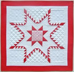 Aurora Feathered Star Quilt Tutorial by Nancy Mahoney | We All Sew