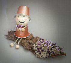 figurita navideña de capsulas nespresso