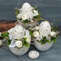 Easter Wreaths, Easter Decor, Happy Easter, Easter Eggs, Creativity, Spring, Easter Ideas, Flowers, Dekoration