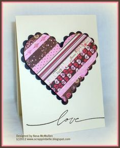 Wonderful Words of Love by n5stamper - Cards and Paper Crafts at Splitcoaststampers