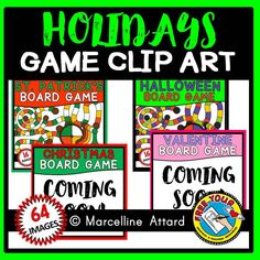 #HOLIDAYS #GAME #CLIPART #GROWING #BUNDLE