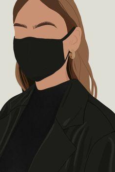 Illustration Inspiration, Illustration Mode, Portrait Illustration, Abstract Face Art, Digital Art Girl, Diy Canvas Art, Aesthetic Art, Cartoon Art, Brows