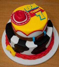 Toy story Jessie birthday cake