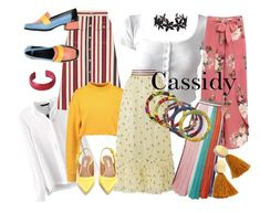 """""""Cassidy Styles Study"""" by andyryan on Polyvore featuring Gucci, Ganni, Venus, Missoni, NOVICA, Tabitha Simmons, Camper, Madewell, Humble Chic and plus size clothing"""