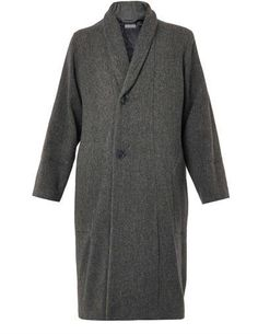 Christophe Lemaire Oversized shawl-collar wool coat on shopstyle.co.uk