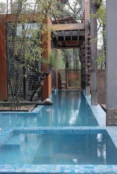 bushfire house from grand designs australia...LOVE! Indoor Outdoor, Outdoor Pool, Indoor Pools, Build Your Dream Home, My Dream Home, Grand Designs Australia, Swimming Pool Designs, Swimming Pools, Indoor Swimming
