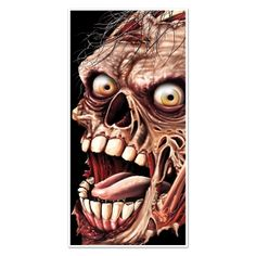 Gothic Walking Dead ZOMBIE ATTACK GIANT HEAD FACE DOOR COVER MURAL Halloween Haunted House Costume Party Decoration Apocalypse Horror Movie Window Wall Hanging DIY Living Undead Cemetery Graveyard Prop Building Supplies - http://www.horror-hall.com/Horror-Prop-ZOMBIE-HEAD-FACE-DOOR-COVER-Haunted-House-Decoration-HH-BS-00006.htm