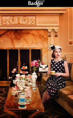 Photo Shoot Styled to promote High Tea at the Ritz Carlton Montreal. Styled by Maddy K. Prop House, International Film Festival, Feature Film, High Tea, Montreal, Photoshoot, Amanda, How To Wear, Photography