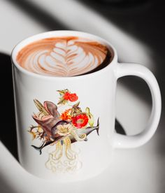 You know what's cooler than latte art? Having art on the mug that your latte art is in. Find thousands of artist designed mugs on Redbubble.