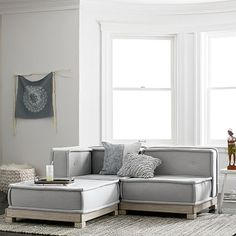 Clean lines and multiple luxe upholstery options give our Riley Collection its chic and sophisticated look. Arrange and rearrange the pieces for lounge seating that's perfectly configured to your space. Pottery Barn Sofa, Pottery Barn Teen, Basement Inspiration, Corner Chair, Lounge Seating, Lounge Couch, Lounge Furniture, Teen Furniture, Luxury Furniture