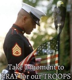 May God bless each one of you and your families, the people of America really do appreciate you and pray that you come home, remain safe! You are each our TRUE HEROES! Pray For America, I Love America, God Bless America, American Freedom, American Pride, American Flag, American Veterans, American Soldiers, Marine Mom